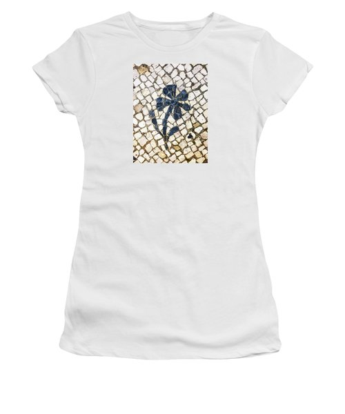 Portuguese Pavement With A Flower Detail Women's T-Shirt