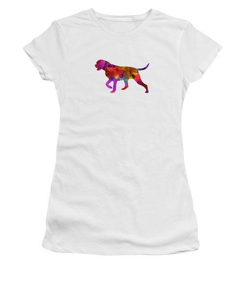 Portuguese Pointer In Watercolor Women's T-Shirt