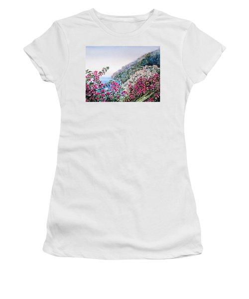 Positano Italy Women's T-Shirt