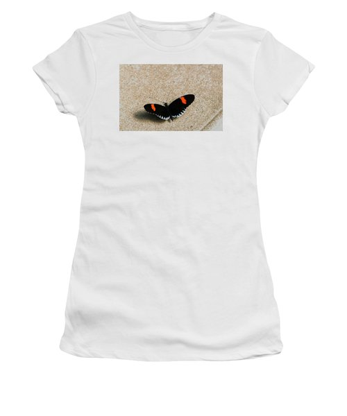 Postman Butterfly Women's T-Shirt (Athletic Fit)