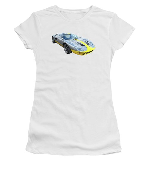 Power And Performance - Ford Gt40 Women's T-Shirt