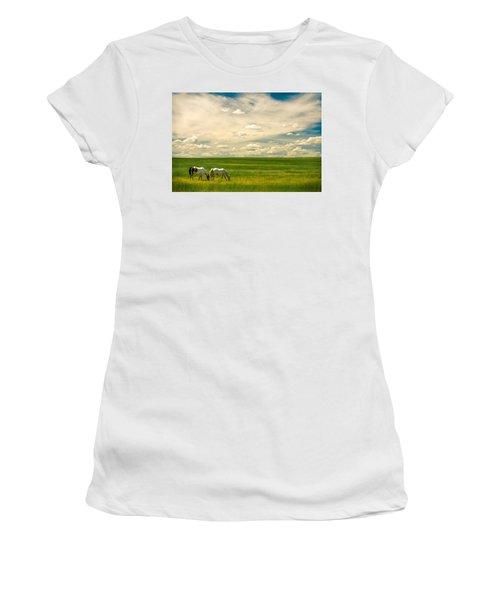 Prairie Horses Women's T-Shirt