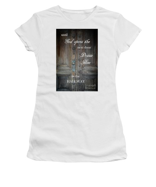 Praise Him Women's T-Shirt (Athletic Fit)