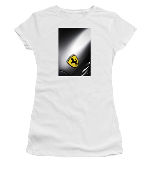 Women's T-Shirt featuring the photograph Prancing Horse by ItzKirb Photography
