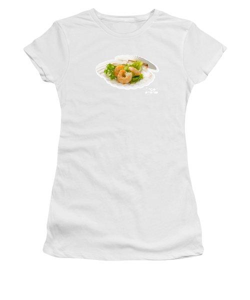 Prawn Appetizer Women's T-Shirt (Athletic Fit)