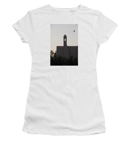 Women's T-Shirt (Junior Cut) featuring the photograph Prayer Flight by Jez C Self