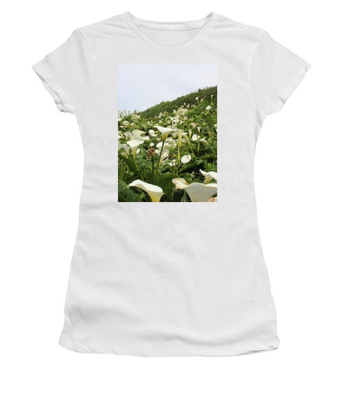 Women's T-Shirt (Junior Cut) featuring the photograph Preaching To The Choir by Marie Neder