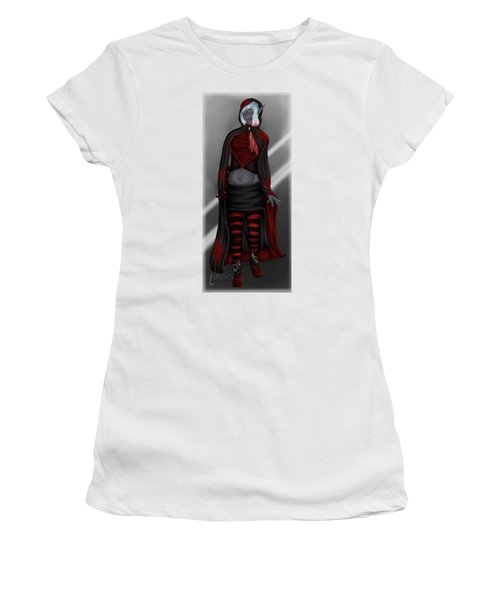Pretentious Elf Women's T-Shirt (Junior Cut) by Amber Armstrong