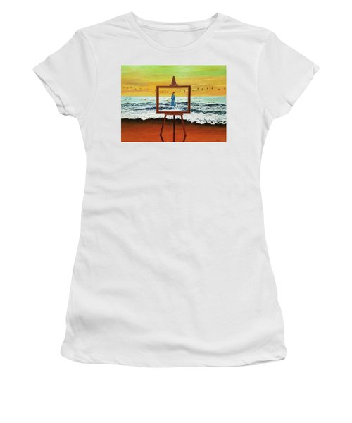 Pretty As A Picture Women's T-Shirt