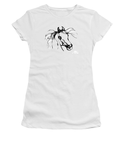 Pretty Filly's Ears Women's T-Shirt (Junior Cut) by Stacey Mayer