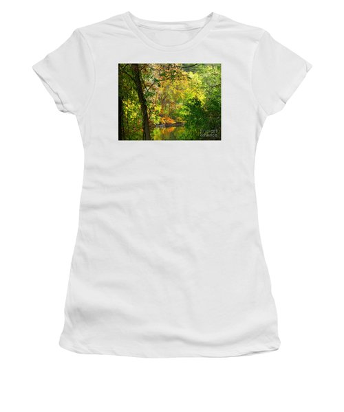 Prettyboy Of Autumn Women's T-Shirt (Athletic Fit)