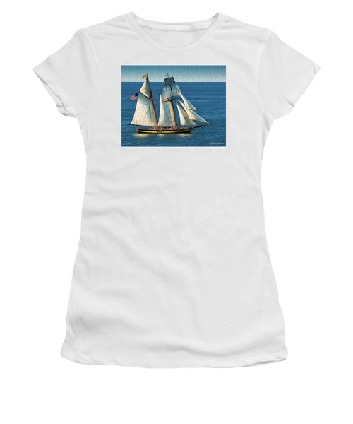Pride Of Baltimore Women's T-Shirt (Athletic Fit)