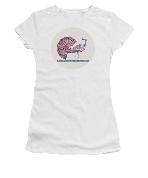 Prince Of Birds B Women's T-Shirt (Junior Cut) by Thecla Correya