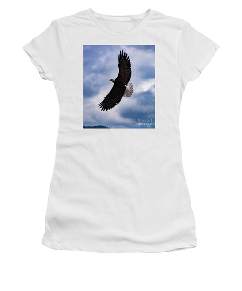 Prince Rupert Soaring Eagle Women's T-Shirt (Athletic Fit)