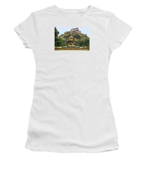 Princes Street Gardens Women's T-Shirt (Athletic Fit)