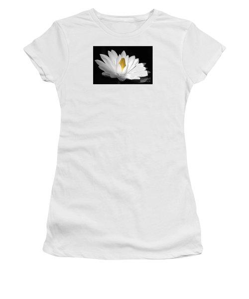 Pristine Women's T-Shirt (Junior Cut) by Cindy Manero