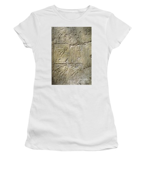 Private Tombs -painting West Wall Tomb Of Ramose T55 - Stock Image - Fine Art Print - Thebes Women's T-Shirt