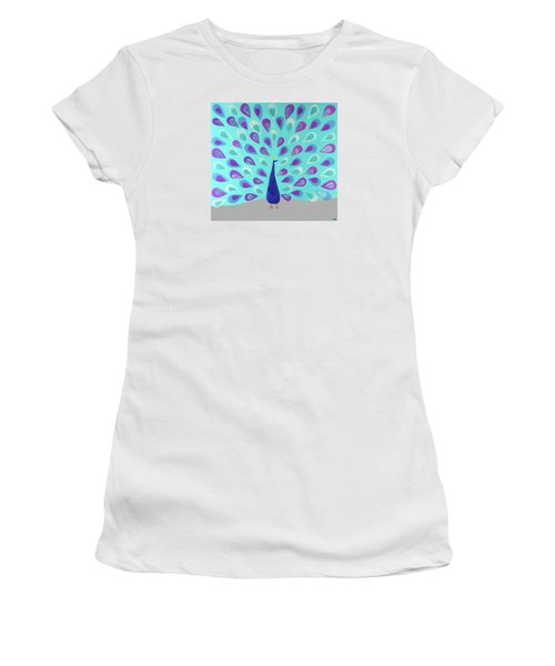Proud As A Peacock Women's T-Shirt (Athletic Fit)