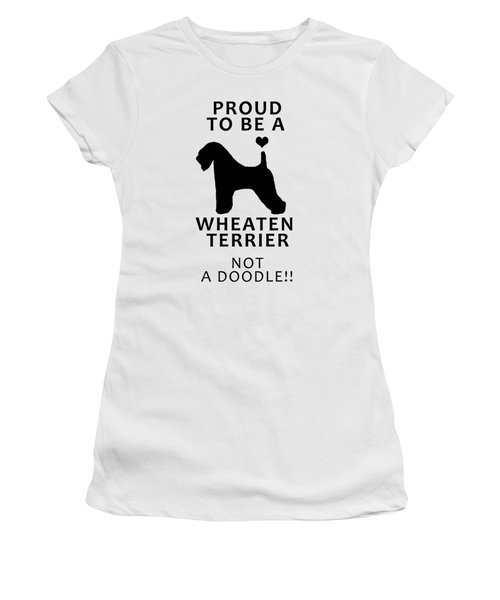 Proud To Be A Wheaten Women's T-Shirt (Athletic Fit)