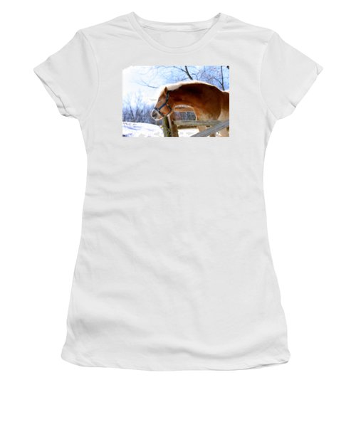 Pssssssh.....it's Not Cold Women's T-Shirt (Junior Cut) by Angela Rath