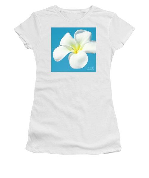 Pua Melia Pakahikahi Women's T-Shirt (Junior Cut) by Sharon Mau
