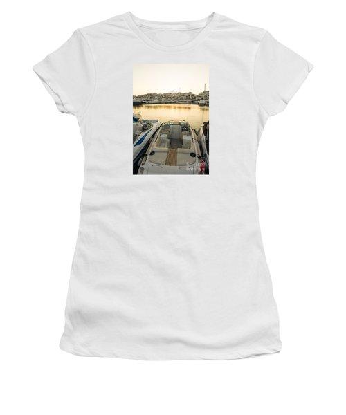Puerto Banus Women's T-Shirt (Junior Cut) by Perry Van Munster