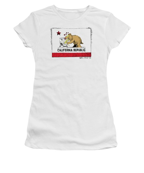 Puke Politics Women's T-Shirt