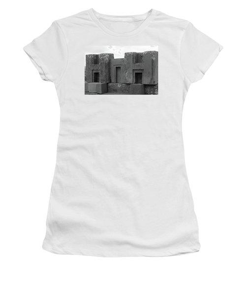 Puma Punku H Blocks, Bolivia Women's T-Shirt