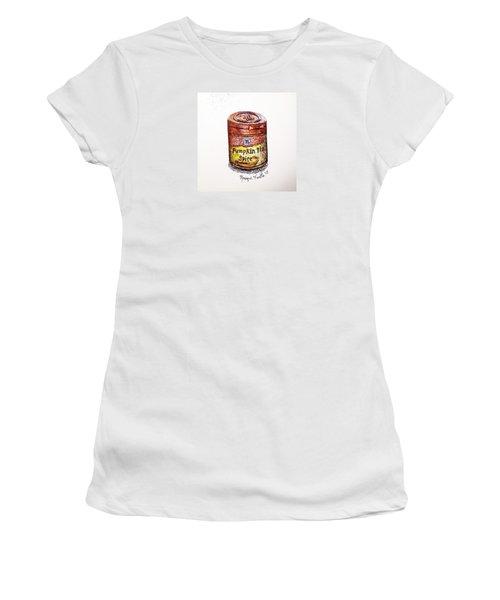 Women's T-Shirt featuring the drawing Pumpkin Pie Spice by Monique Faella