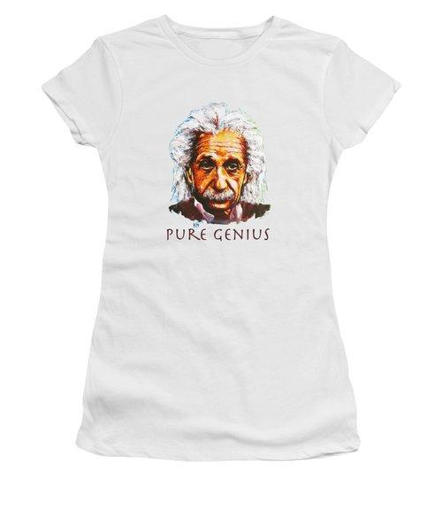 Pure Genius - Einstein Women's T-Shirt