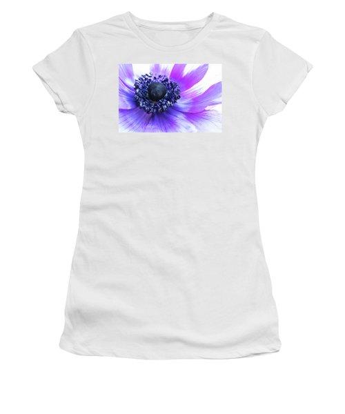Purple Anemone Women's T-Shirt