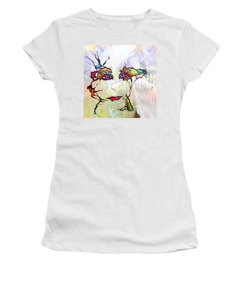 Purple Eyed Nymph Women's T-Shirt