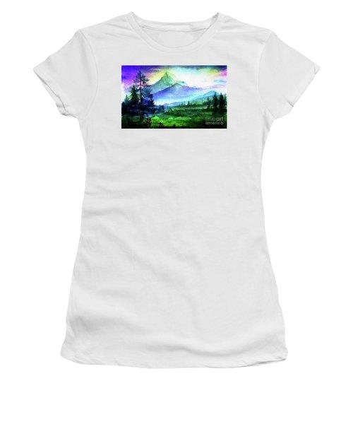 Purple Mountains Majesty Women's T-Shirt