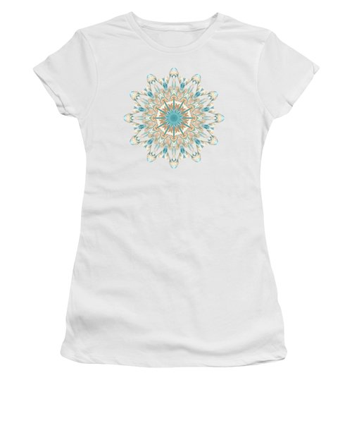 Pussy Willow Pattern Women's T-Shirt (Athletic Fit)
