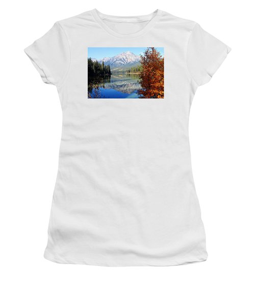 Pyramid Mountain Reflection 3 Women's T-Shirt (Athletic Fit)