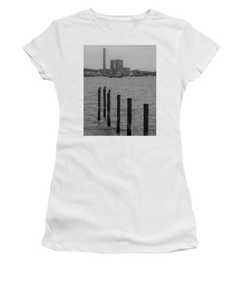 Women's T-Shirt (Junior Cut) featuring the photograph Q. River by John Scates