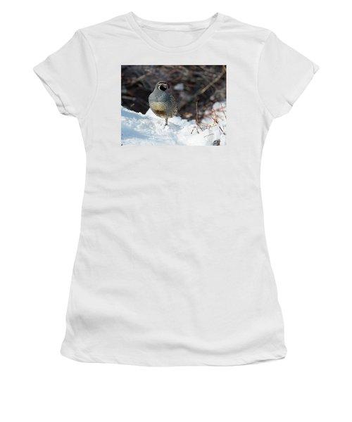 Quail Hollow Women's T-Shirt (Junior Cut) by Scott Warner