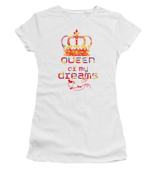 Queen Of My Dreams Women's T-Shirt (Junior Cut) by Pedro Cardona