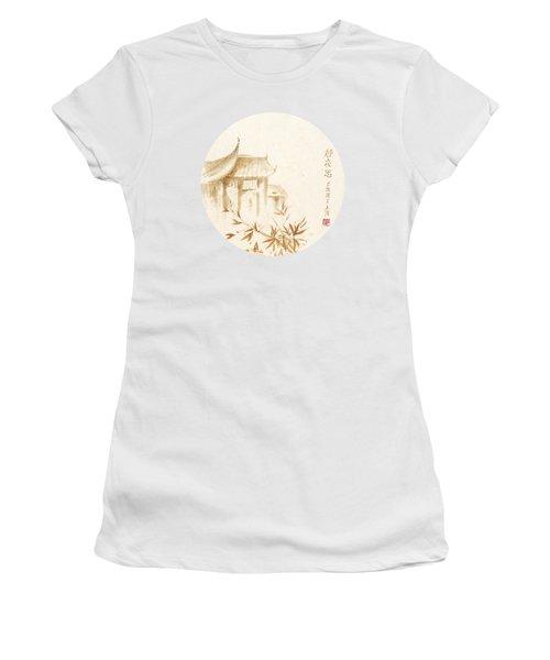 Quiet Night Thoughts - Round Women's T-Shirt