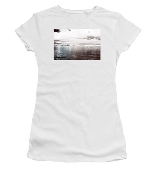 Quiet Waters Women's T-Shirt (Athletic Fit)