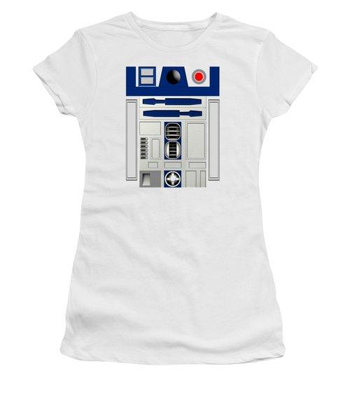 R2d2 Women's T-Shirt (Athletic Fit)