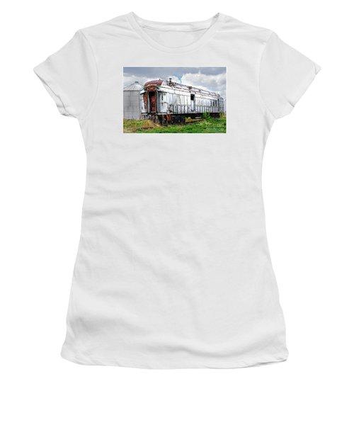 Rail Car Women's T-Shirt (Athletic Fit)