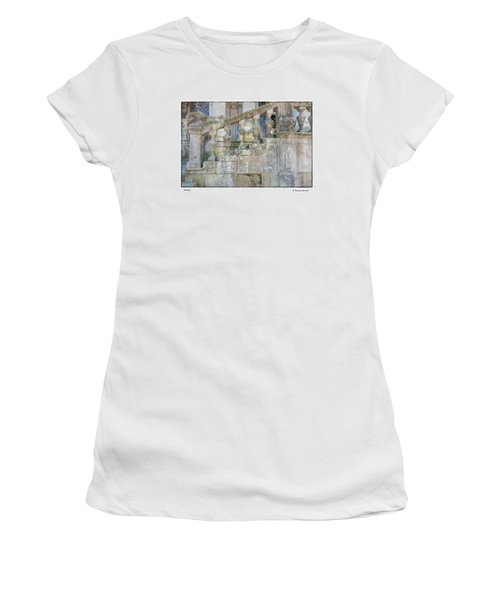 Railing Women's T-Shirt (Junior Cut) by R Thomas Berner