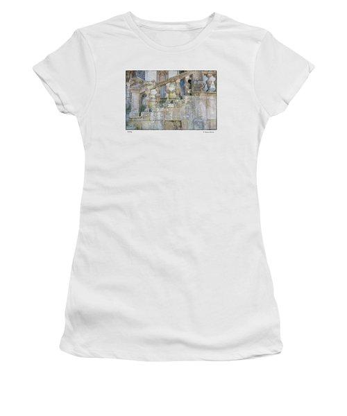 Railing Women's T-Shirt (Athletic Fit)