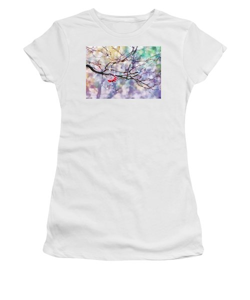 Rain Berries Women's T-Shirt (Athletic Fit)