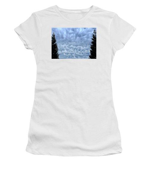 Rain Warning Women's T-Shirt (Athletic Fit)