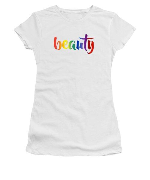Rainbow Beauty Women's T-Shirt
