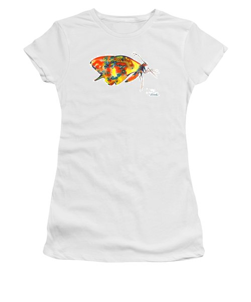 Rainbow Butterfly Women's T-Shirt