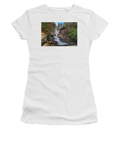 Ramsey Cascades - Tennessee Waterfall Women's T-Shirt