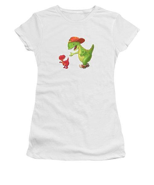 Rap-rap Raptor Women's T-Shirt